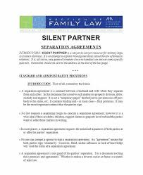Limited Partnership Agreement Template Limited Partnership Agreement Template Bc 43 Official Separation