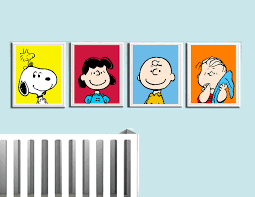 charlie brown wall art