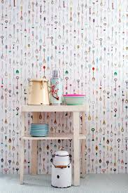 above the latest iteration from studio ditte teaspoons wallpaper