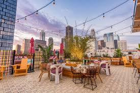 la rooftop hangout spots