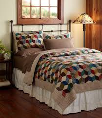 34 best L.L. Bean Signature Holiday Wish List images on Pinterest ... & Cool, geometric quilt from LL Bean. Adamdwight.com
