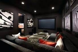 small media room ideas. Small Media Room Design Ideas Interior Excellent Using Grey Fabric Sofa With M