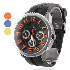 cool sport watches best watchess 2017 men s cool silicone og quartz wrist sports watch black usd