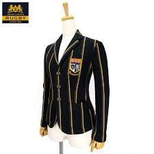 ralph lauren womens stripe blazer jacket rugby ralph lauren womens striped blazer jacket