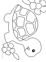 Sea Turtle Pattern Use The Printable