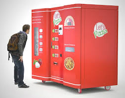 Pizza Vending Machine Locations Usa Enchanting An Italian Vending Machine For Pizza Bostoniano