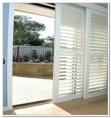 wood shutters for sliding glass doors sliding glass shutter opt for shutters for sliding doors sliding