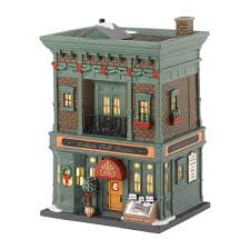 Department 56 City Lights Christmas Trimmings Department 56 Christmas In The City Village Fulton Fish