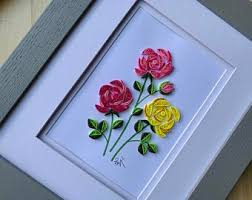 Wall hanging handmade paper flower decoration : Paper Wall Art Etsy