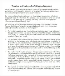 Profit Sharing Agreement Template Fascinating Simple Revenue Sharing Agreement Template Tridentknights