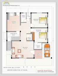 duplex house plan and elevation sq ft home appliance pictures