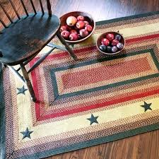 red jute rug a primitive star a jute braided rugs a red red round jute rug