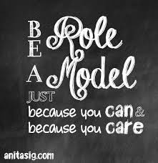 Quotes About Being Role Model 40 Quotes Mesmerizing Model Quotes