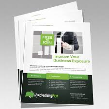 map marketing pack v a4 flyer advertising
