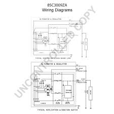 leece neville alternator wiring diagram leece prestolite leece neville on leece neville alternator wiring diagram