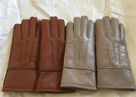 windproof men s shearling sheepskin gloves thick fur lined leather gloves mittens