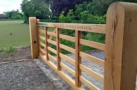 How To Fit A Wooden Field Gate
