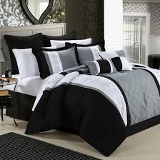 white king comforter bed sets throughout bedroom luxury embossed solid oversized bedding with black and decorations