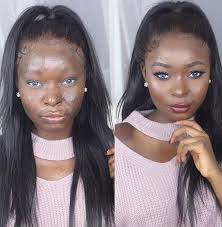 recently i ve been seeing a lot of people ing s and women who upon wearing a full face of makeup they look pletely diffe than their