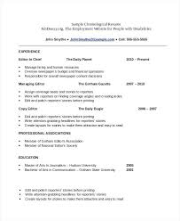 Different Resume Templates Free Functional Resume Templates