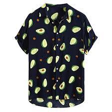 Mens Tropical Hawaiian <b>Shirt 2019 New</b> Casual Short/Long Sleeve ...