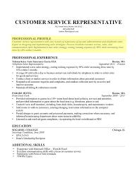 Profile Resume How To Write A Professional Profile Resume Genius