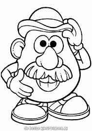 Mr And Mrs Potato Head Coloring Pages Xyzcoloring