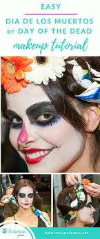 easy day of the dead makeup tutorial all you need are these amazing diy makeup tips to look awesome for the day of the dead