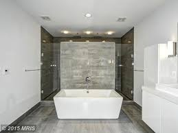 Contemporary Master Bathroom With Wall Sconce  Master Bathroom In - Contemporary master bathrooms