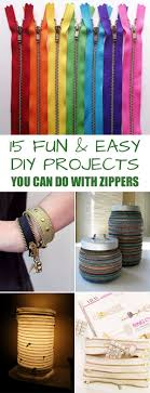 Fun Diy Projects 15 Fun And Easy Diy Projects You Can Do With Zippers
