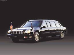 2001 Cadillac DeVille Presidential Limousine; used by George W ...