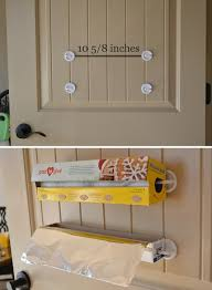 Creative storage ideas based on items found around the house.