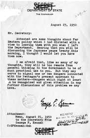 Truman Library: Memorandum, George F. Kennan To Dean Acheson, August ...