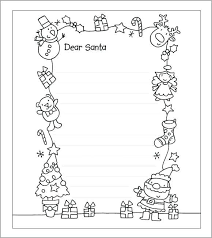 Free Letter From Santa Word Template Free Letter From Template Word Astonishing 8 Attractive