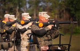 Navy Gunners Mate Shoots For Gold In The 51st Annual Interservice