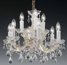 lighting gorgeous italian crystal chandeliers