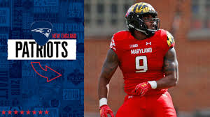 New England Patriots select Maryland Terrapins defensive end Byron Cowart  No. 159 in the 2019 NFL Draft