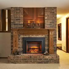 temco black trim tempered glass fireplace doors cx 42