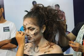 special effects sfx airbrush makeup course cles in delhi euro chroma