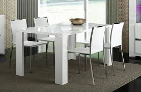 High Gloss Dining Table Dining Table In White High Gloss By Esf W Options