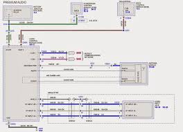 wiring diagram for the sony amplifer ford taurus forum image