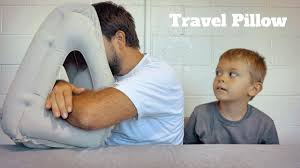 <b>Inflatable Travel Pillow</b> - YouTube