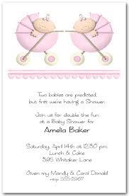 Twin Girl Baby Shower Invitation Wording  Home Party Theme IdeasCute Baby Shower Invitation Ideas