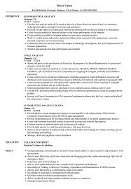 Intelligence Officer Resume Example Best Of Intel Analyst Resume Samples Velvet Jobs