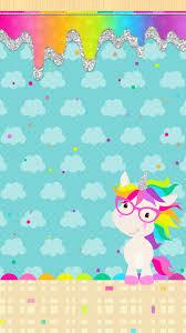 Cute Unicorn Rainbow Hd ...