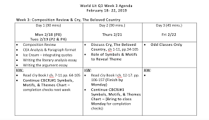 World Lit 10 Q3 Week 3 Composition And Cry The Beloved