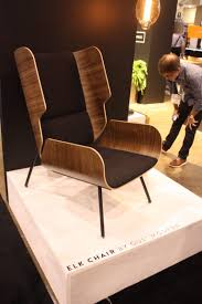 modern chair. The Elk Chair From Gus Modern Is A Fresh Take On Classic Wingback Design, R