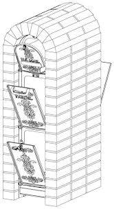 Ore Vault Locking Column Mount Mailbox Instation Diagram Column Mount Mailbox H21