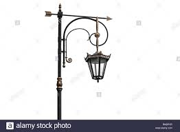 Iron Lamp Post Cut Out Stock Images Pictures Alamy