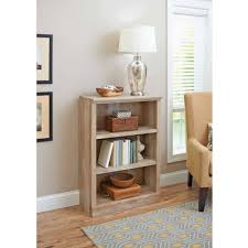 Bookcase Table Better Homes And Gardens Crossmill Collection 3 Shelf Bookcase